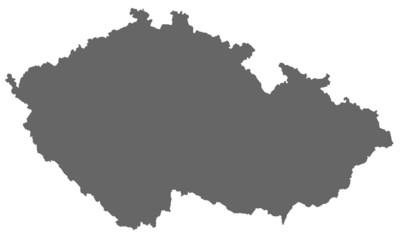 Tschechien in grau