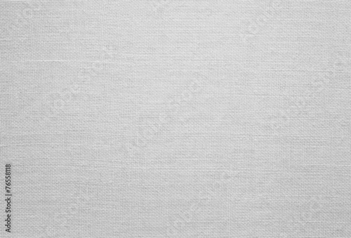 Fotobehang Stof White linen texture, background with copy space