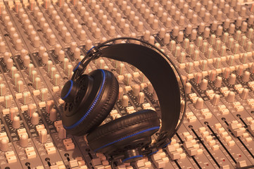 Music, Headphones, Music console