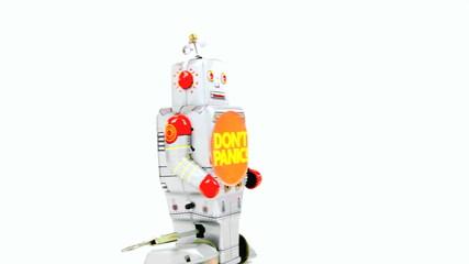 panic robot