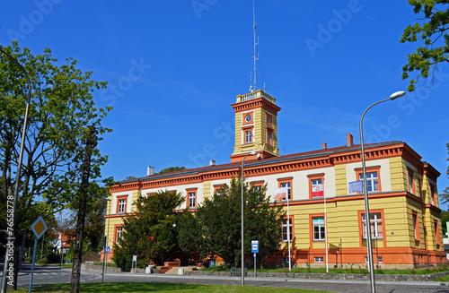 Altes Rathaus und Hochsee Fischerei Museum Swinemünde - 76558778