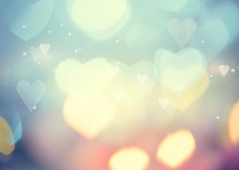 Valentine Hearts Abstract Background. St.Valentine's Day