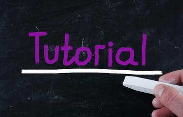 tutorial concept