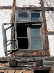 Old Rural House Window