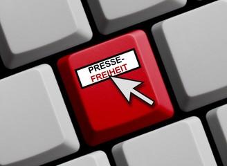 Pressefreiheit online