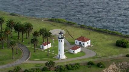 California Lighthouse Coast Ocean