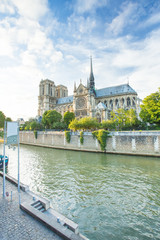 Notre Dame de Paris Christ Chruch in France.