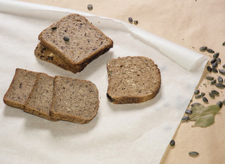 Different kinds of healthy bred