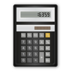 Calculatrice Noir