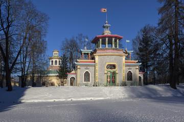 Китайская беседка и китайская деревня. Пушкин
