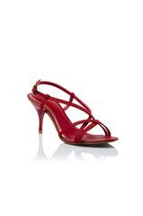 Womens red fashion shoes