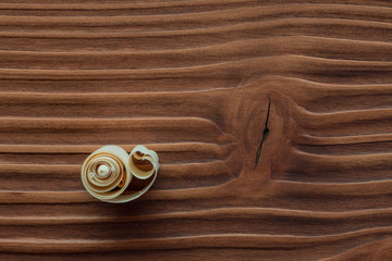 Holzspan auf Holzstruktur