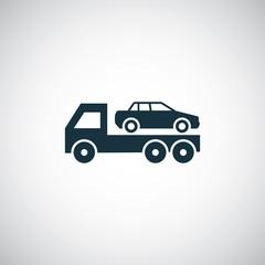 car evacuator icon