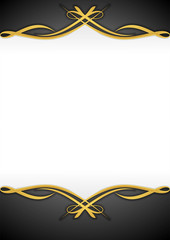 Abstract Background Ornament Gold 2