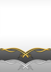 Abstract Background Ornament Gold 3