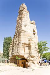 Open Air Museum of Goreme,Cappadocia. Ancient church in rock