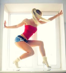 sexy girl sports