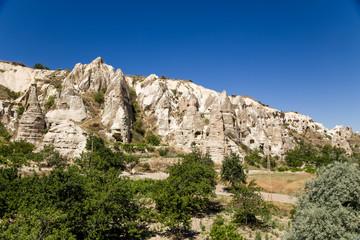 Cappadocia. Mountain valley in the National Park of Goreme