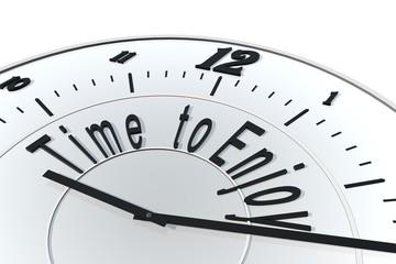Tijd om te genieten