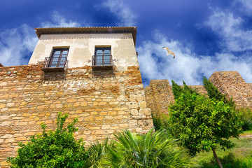 The Alcazaba of Malaga Century X in the Arab period in Malaga Sp