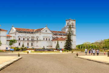 The old cathedral of the Latin Rite Roman Catholic of Goa