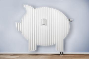 Sparschwein heizung