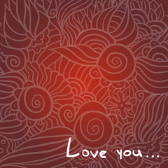 Hand-Drawn Valentine's Day Doodle