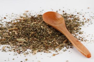 Dry basil