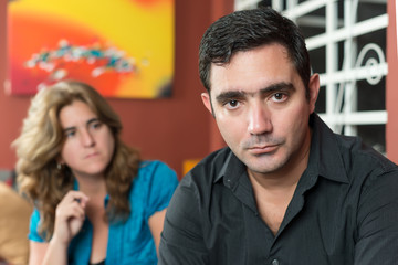 Divorce - Sad husband and wife
