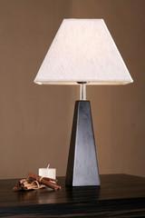 Desk lamp as honour of an interior
