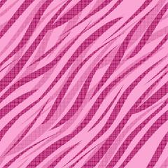 Seamless zebra skin pattern background