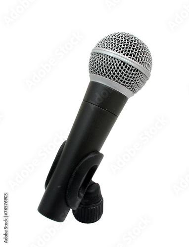 Leinwandbild Motiv Mikrophon