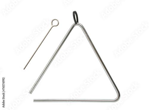 Leinwanddruck Bild Triangel