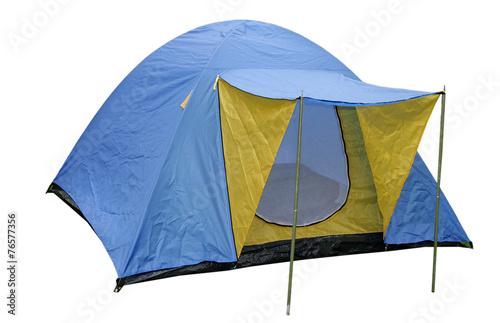 Plexiglas Kamperen Zelt