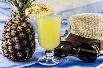 pineapple juice, vacation