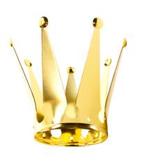 Goldene Faschingskrone