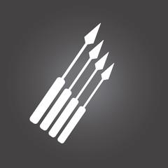 mechanical set wrench over black color background