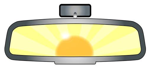 Rear View Mirror Glare