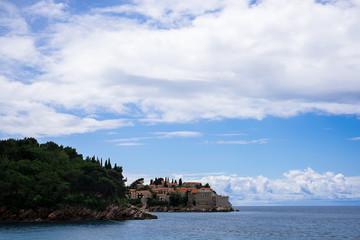 Sveti Stefan, island resort, Montenegro