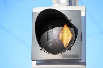 Feu de signalisation ' tramway '