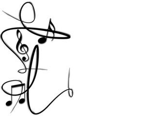Musiknoten Musik