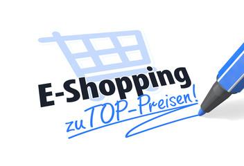 E-Shopping zu TOP-Preisen!