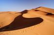 Morocco. Sand dunes of Sahara desert - 76580319