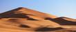Leinwanddruck Bild - Morocco. Sand dunes of Sahara desert