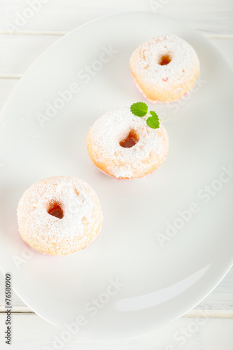 canvas print picture Donuts