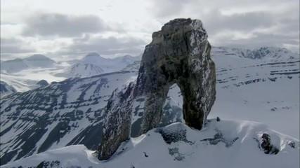 Peak Polar Rocky Mountains Snow