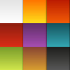 Colorful background (seamless pattern) made of colorful boxes