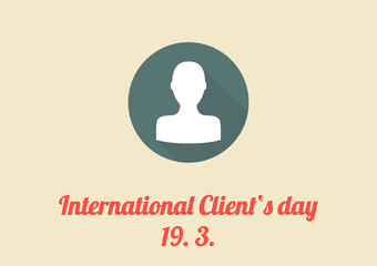 International Client's day card