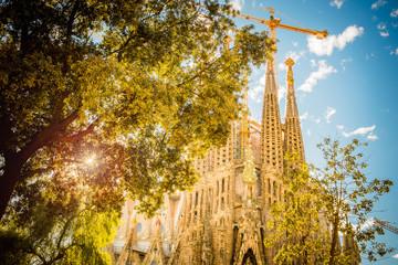 Sagrada Familia, Barcelona,Spain