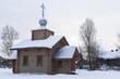Храм в честь иконы Божией Матери в деревне Теребино